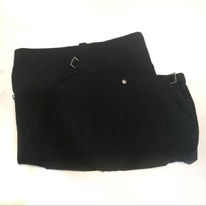 Lucy travel crop pants cargo cropped length